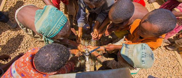 Eau potable pour l'école Itaosy à Antananarivo, Madagascar